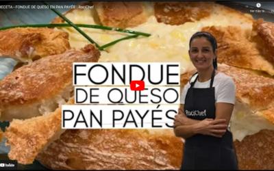 👩🏻🍳 𝗧𝗘𝗡𝗘𝗠𝗢𝗦 𝗡𝗨𝗘𝗩𝗔 𝗥𝗘𝗖𝗘𝗧𝗔 🧀 FONDUE DE QUESO EN PAN PAYES