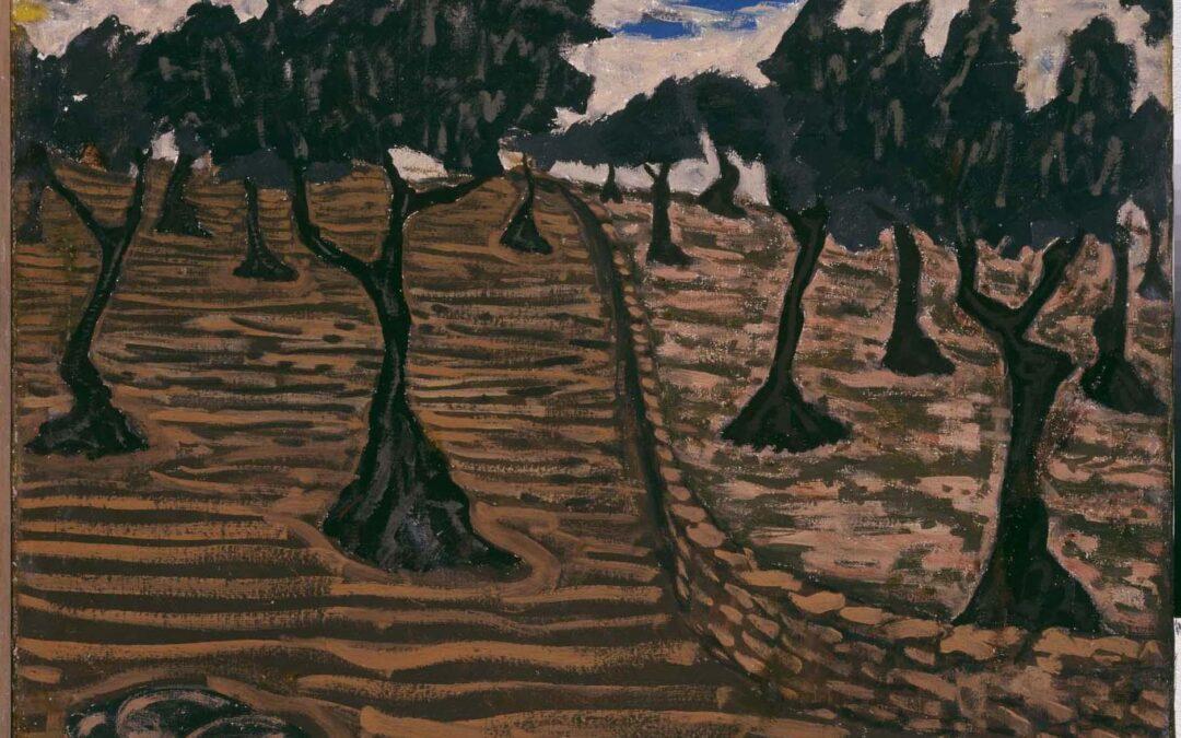Imagen de portada de El arte y el olivo. Parte I